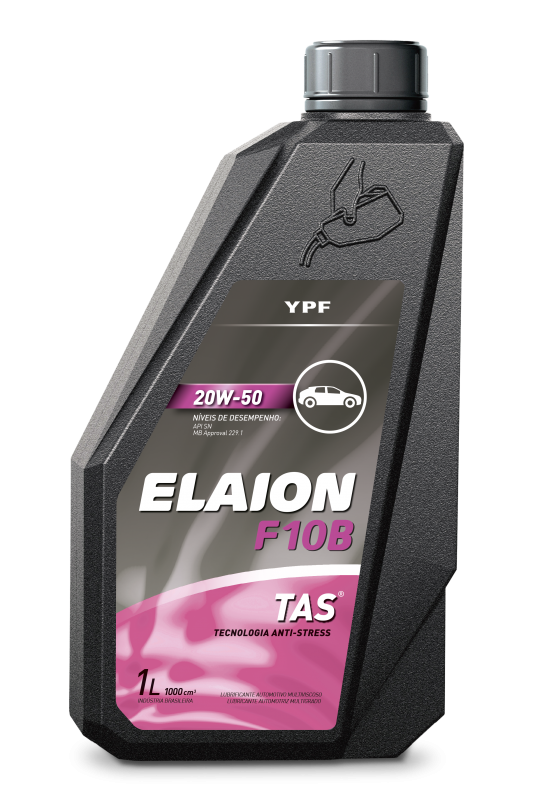 Lubrificante Automotivo Elaion F10B | 20W-50 - YPF Brasil